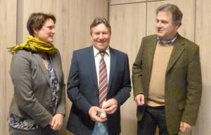 Bez.Jug.Referent D. Hoffstätter, Mitte - Verabschiedung-2-2016-mit Landesjugendpfarrerin Ulrike Bruinings und Dekan Dr. Reppenhagen